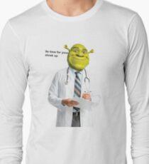 Shrek Check up meme Long Sleeve T-Shirt