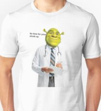 Shrek Check up meme Unisex T-Shirt
