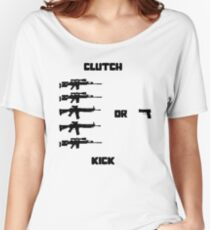 Clutch or Kick Women's Relaxed Fit T-Shirt