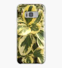 Green Washington leaves Samsung Galaxy Case/Skin