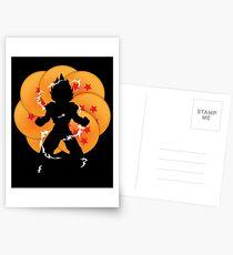 Saiyan Power Postcards