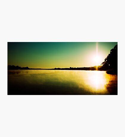 Sunrise near Mannum Photographic Print
