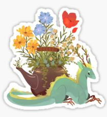 Jasmine Tea Dragon Sticker