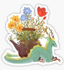Jasmine Tea Dragon Sticker