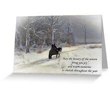 Highlander Christmas Greeting Card
