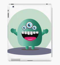 Funny Alien  iPad Case/Skin