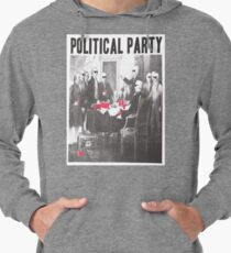 Political Party Shades & Red Cups Lightweight Hoodie