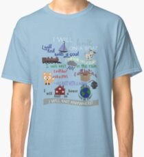 Knitting Products: I Will Knit on a Boat   Classic T-Shirt