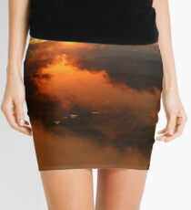 Mysterious Moment in Time Mini Skirt