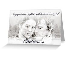 True Meaning Of Christmas Greeting Card