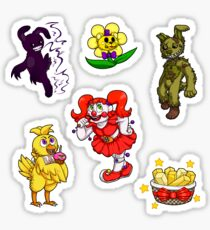 Five Nights With Stickers Sticker