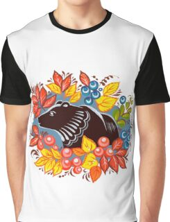 The Bear in autumn forest Graphic T-Shirt