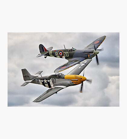 A Close Pass - HDR -Dunsfold 2014 Photographic Print