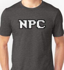NPC - Non-Playable Character - Gamer T-Shirt T-Shirt
