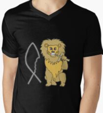 feed them to the lions Men's V-Neck T-Shirt