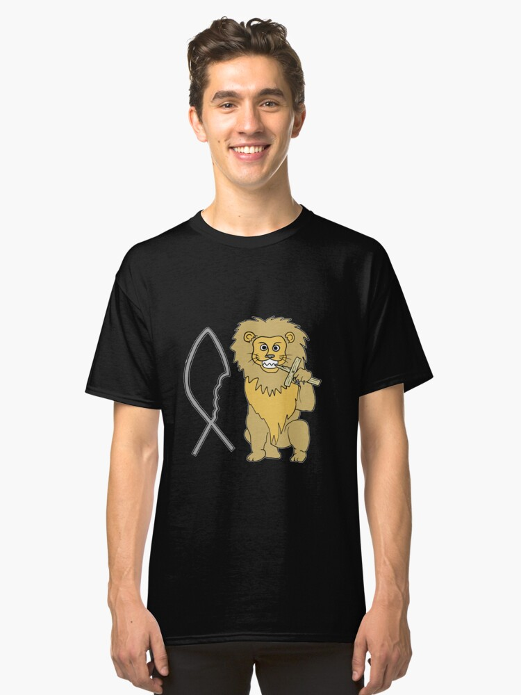 feed them to the lions Classic T-Shirt Front