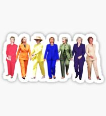 PANTSUIT QUEEN Sticker