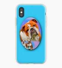 English Bulldog Breed Art iPhone Case
