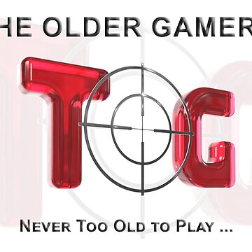 The Older Gamers Logo - Red by TOG-Gamers