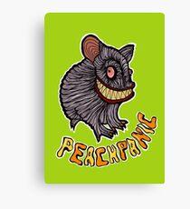 Monster PeachPanic Hamster Canvas Print