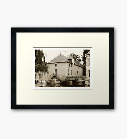 Old mill Framed Print