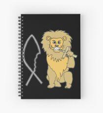 feed them to the lions Spiral Notebook