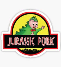 Jurassic Pork Sticker
