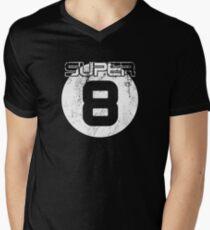 Super 8 Mens V-Neck T-Shirt