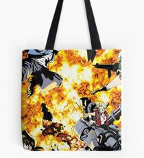 Fire Inferno Tote Bag