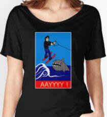 Jumping the Shark Women's Relaxed Fit T-Shirt