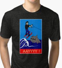 Jumping the Shark Tri-blend T-Shirt