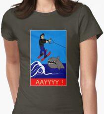 Jumping the Shark Women's Fitted T-Shirt