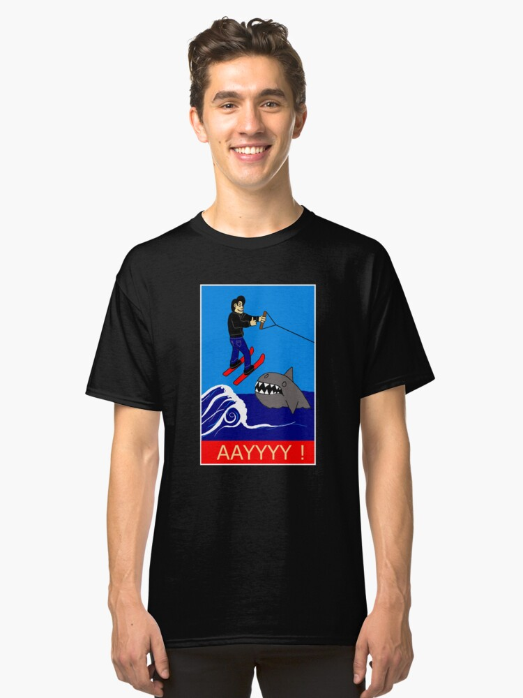 Jumping the Shark Classic T-Shirt Front