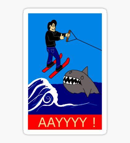 Jumping the Shark Sticker