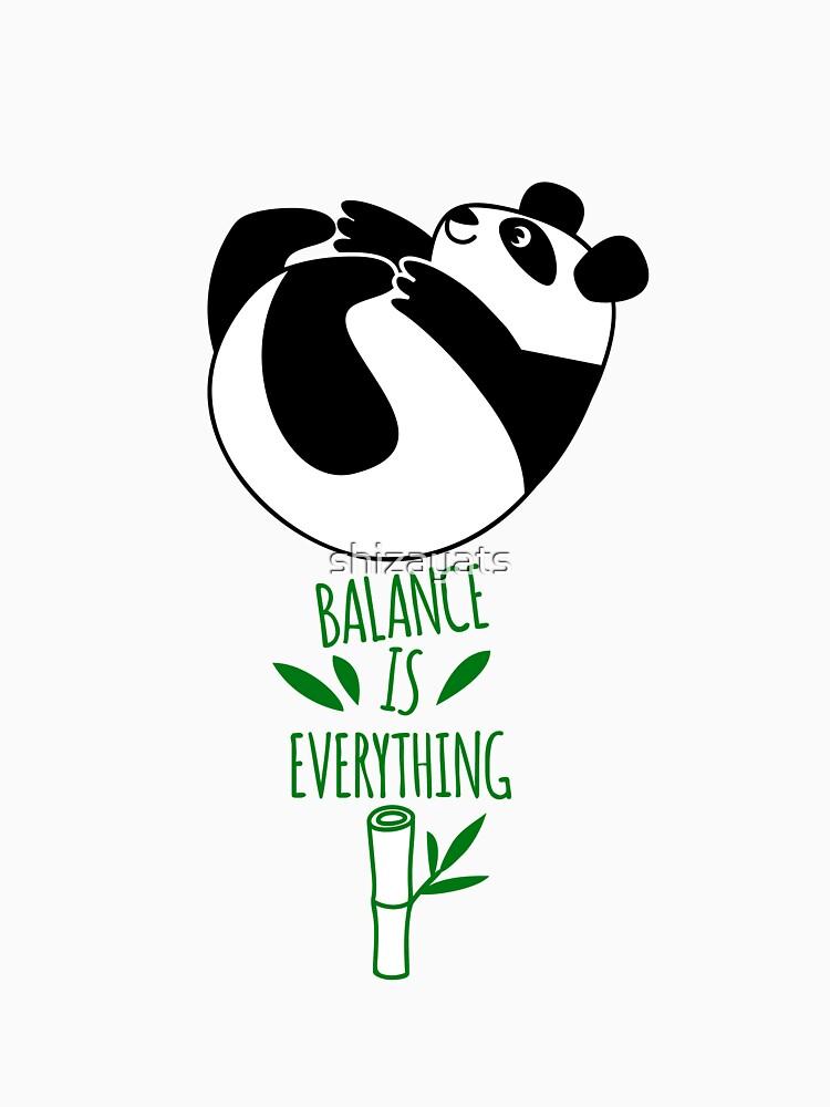 Balance Is Everything! Tumbling panda. by shizayats