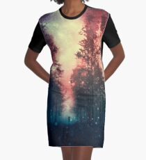 Magical Forest II Graphic T-Shirt Dress