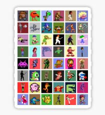 Pixel Heroes Sticker