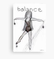 Balance © Vicki Ferrari Canvas Print