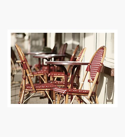 French terras Photographic Print