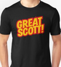 Back to the Future 'Great Scott!' quote T-Shirt