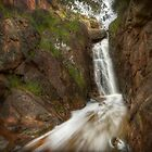 Hidden waterfall, Warby Ranges by Kevin McGennan