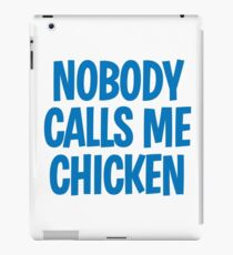 Back to the Future 'Chicken' quote iPad Case/Skin