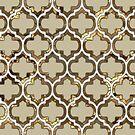Gold Lattice Effect Decorative Design by Ra12