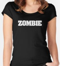 ZOMBIE T-shirt Women's Fitted Scoop T-Shirt