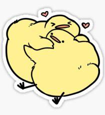 Hug Birdblob Sticker