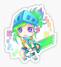 Arcade Chibi Riven Sticker