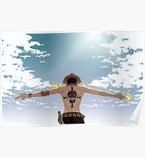 Portgas D. Ace Poster