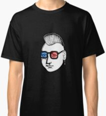 Captain Punk 3D Classic T-Shirt
