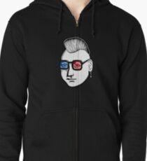 Captain Punk 3D Zipped Hoodie