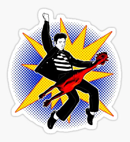 Even playing a rubber chicken I kick The Beatles' asses Sticker